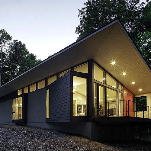 가족을 위한 집의 정석, 숲과 하나된 주택