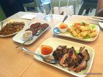 태국친구와 필리핀에서 유명한 태국음식점에 가다.