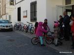 스페인 학교에서 자전거를 가져오게 한 이유