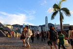 홍콩 3박 4일 여행기 침사추이 해변공원의 절경