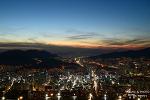 부산 황령산 봉수대 일몰 그리고 도시의 아름다운 밤