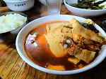 양평 청계산 국수역 맛집 돼지고기 두부찌개