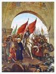 오스만 제국,  페르시아와 비잔티움 문화의 영향을 받으면서도 독창적인 이슬람적인 투르크 문화로 발전시켜 나가다.