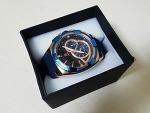 [20대 남성 시계] 추천 브랜드 : 에이커츠 A KURTZ 남자 우레탄 시계 AK64-RBBL/BL
