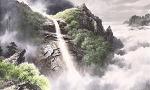 금강산의 비봉폭포