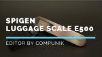 슈피겐 여행용 휴대용 저울 E500(Spigen luggage scale)