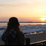하바롭스크 느낌있는여행지 아무르강석양일몰 관람하며 산책하기