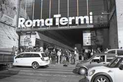 film: Rome in B&W