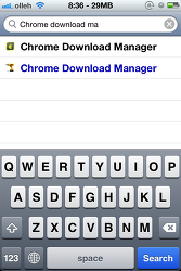 iOS Chrome에서 파일 다운로드 가능한 Cydia 트윅 - Chrome Download Manager