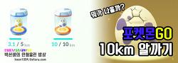 [포켓몬GO] 포켓몬GO, 10km 알까기!!!