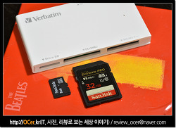 USB 3.0 메모리카드 리더기 버바팀 4 in 1 사용 후기