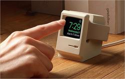 클래식 매킨토시의 향수를 불러 일으키는 애플워치 충전 스탠드, 'Elago W3 Stand'