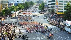 국군의 날, 시가행진 다시보기