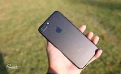 아이폰7 플러스 거치대 내장 랩씨 투명 범퍼케이스