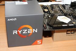 라이젠5 1500X 시스템 만들어보기 라이젠 CPU 정품쿨러 장착 방법