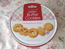 코스트코 데니쉬 버터쿠키 Danish butter cookies. 대용량은 역시 대단해!