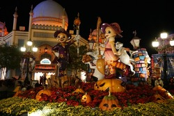 Visiting Everland for Extreme Halloween