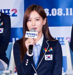 160706 국가대표2 제작보고회 오연서 직찍 by 글라라
