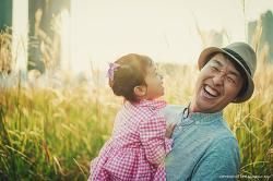 사랑하는 하연이와 아빠가 같이 웃어요!!