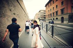 드디어 로마 도착! 바티칸 박물관 가는길!!~