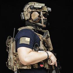 [Pratama tactical] Ranger skull T-shirt.