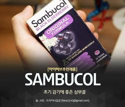아이허브 삼부콜, 면역력 강화와 초기 감기에 좋은 가정 상비품