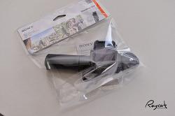 소니 FDR-X3000과 셀카 삼각대 슈팅그립 VCT-STG1