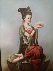 관음도 산원 일기중에 기록 (영월 종교 미술 박물관)