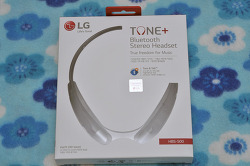 LG TONE PLUS HBS-500/MINI 블루투스 개봉/사용기