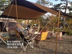 [41st Camping] 모항 수산물직판장에서 해산물 가득~, 태안별빛캠핑장