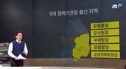 박근혜 인사 영남 지역 편중, 5대 권력 기관장 모두 영남 : 국민은 박근혜 국경을 탈출했다