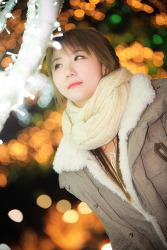 타임스퀘어에서 스냅으로 담아본 그녀 MODEL: 연다빈 (8-PICS)
