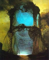 제목 없는 그림, '지슬라브 백진스키'의 기괴한 환상 세계