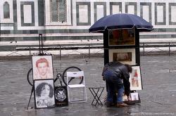 비오는 날, 피렌체의 도둑시장