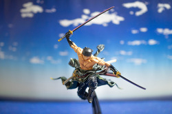 banpresto world figure colosseum one piece roronoa zoro repaint ver. / bwfc 원피스 롤로노아 조로 리페인트 버전