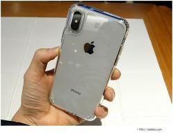 아이폰X 실버 가장 애플스럽게! 아이폰X 투명케이스 가장 깔끔한 버전