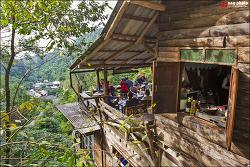 태국 치앙마이에서 이쁜 산속마을 메캄퐁까지 드라이브도 하고 인기 카페 Chomnok Chommai에서 커피한잔 / Ban mae kampong, Chiangmai, Thailand