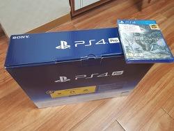 플레이스테이션 4 프로 (플스4, PS4 PRO) 구입