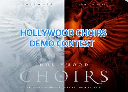 EastWest - HOLLYWOOD CHOIRS Demo Contest ( 2018년 3월 28일 마감 )