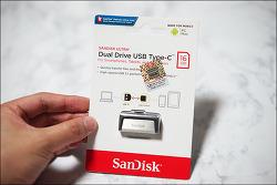 샌디스크 USB-C 듀얼 드라이브 USB 메모리 사용 후기