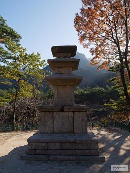 보물 제443호속초 향성사지 삼층석탑
