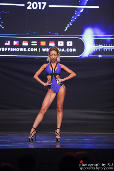 2017 WBFF KOREA CHAMPIONSHIP Commercial Model