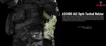 [홀스터] SAFARILAND 6354DO ALS Optic Tactical Holster review.