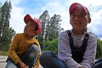 [대장정-06] 티베트 왕 '고향'에서 배운 환영 인사말 '자시델레~'