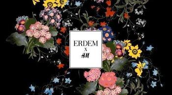 H&M + Erdem 콜라보의 티저가 나왔다