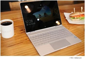 진정한 2 in 1 윈도우태블릿, 360도 회전되는 HP스펙터 X360 컨버터블