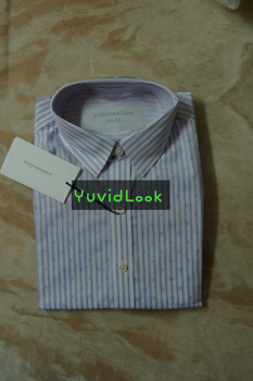 [YuvidLook 구매보고서] 커스텀멜로우 스트라이프 도트 셔츠