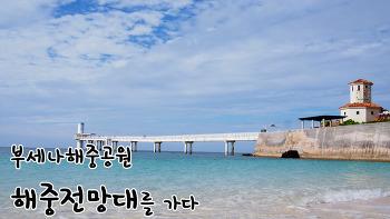 오키나와 가족여행기, 부세나해중공원의 해중전망대를 가다