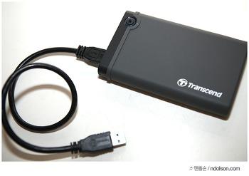 외장하드케이스로 쉽게 외장SSD 활용! 갤럭시노트7 OTG