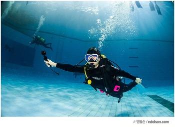 오픈워터자격증 따고 재미있는 수중사진 찍어 주는 잠실 스쿠버다이빙교육